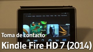 Kindle Fire HD 7 (2014) - Toma contacto