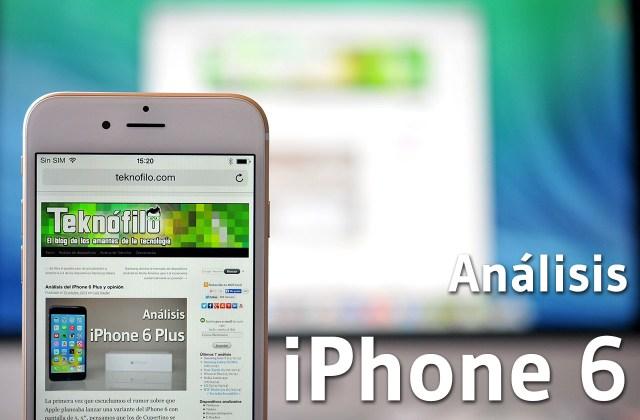 iPhone 6 - Analisis