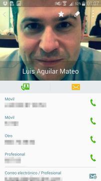 Contactos / Teléfono