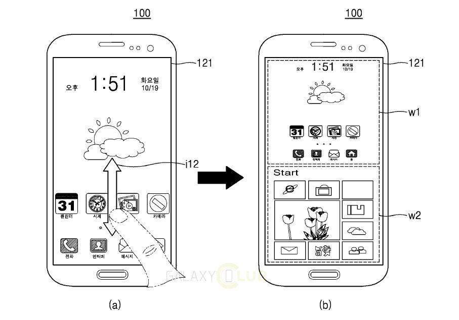 Samsung brevetta Galaxy con Android e Windows insieme: le immagini