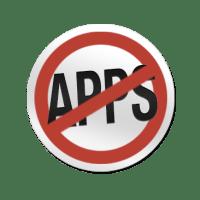 no-apps