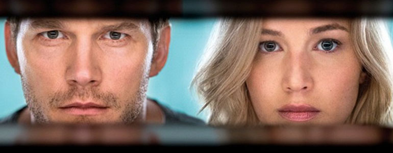 Passengers: ecco il trailer del film con Jennifer Lawrence e Chris Pratt