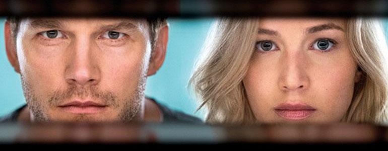 Passengers: ecco il trailer del film con Jennifer Lawrence e Chris Pratt