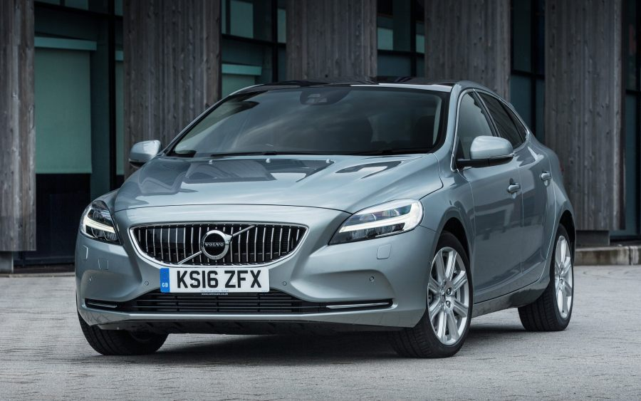 Volvo V40 review  safe and stylish  but quite small Volvo V40 static