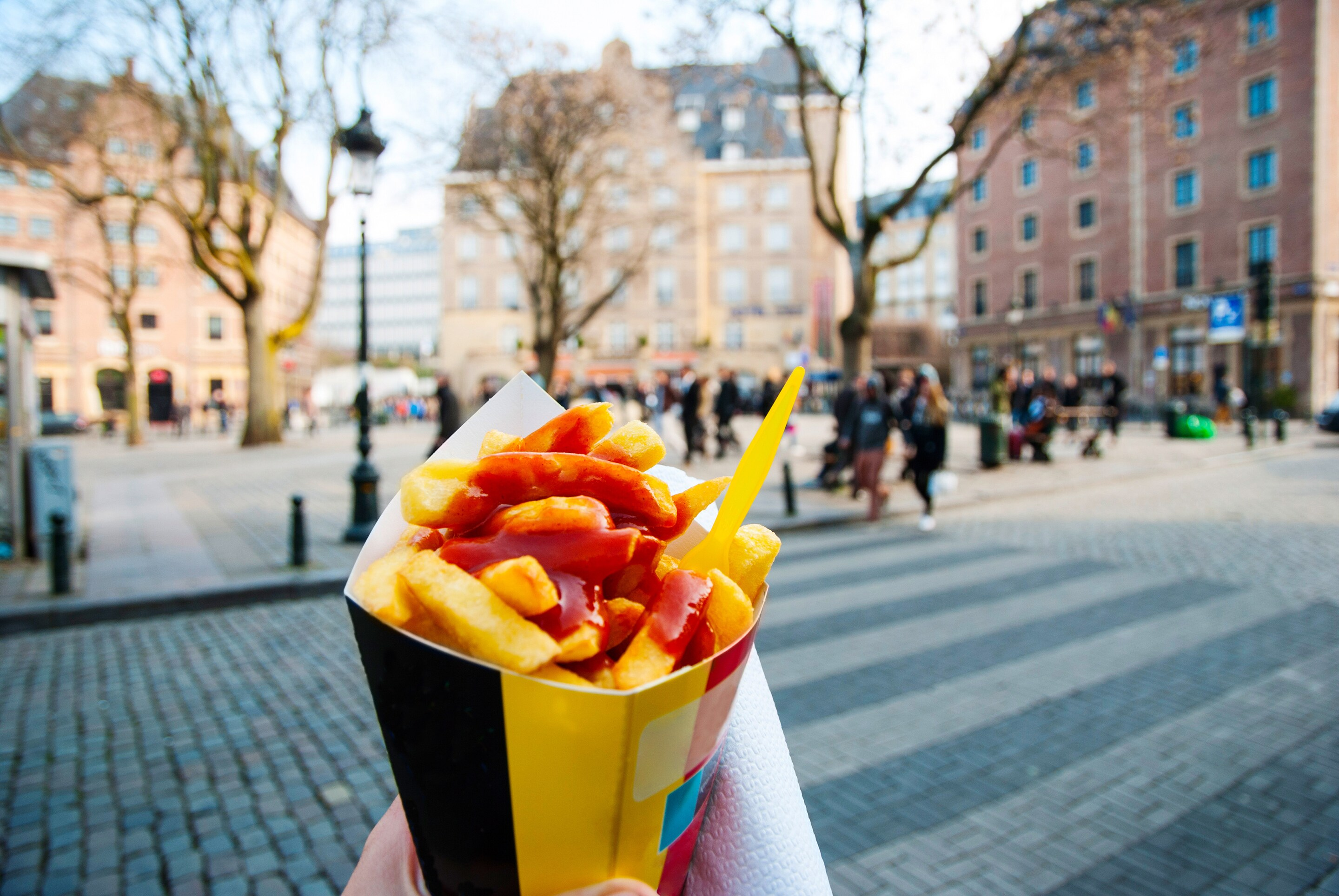 30 reasons why you must keep visiting Belgium Belgian chips  we re not sure about the ketchup  though