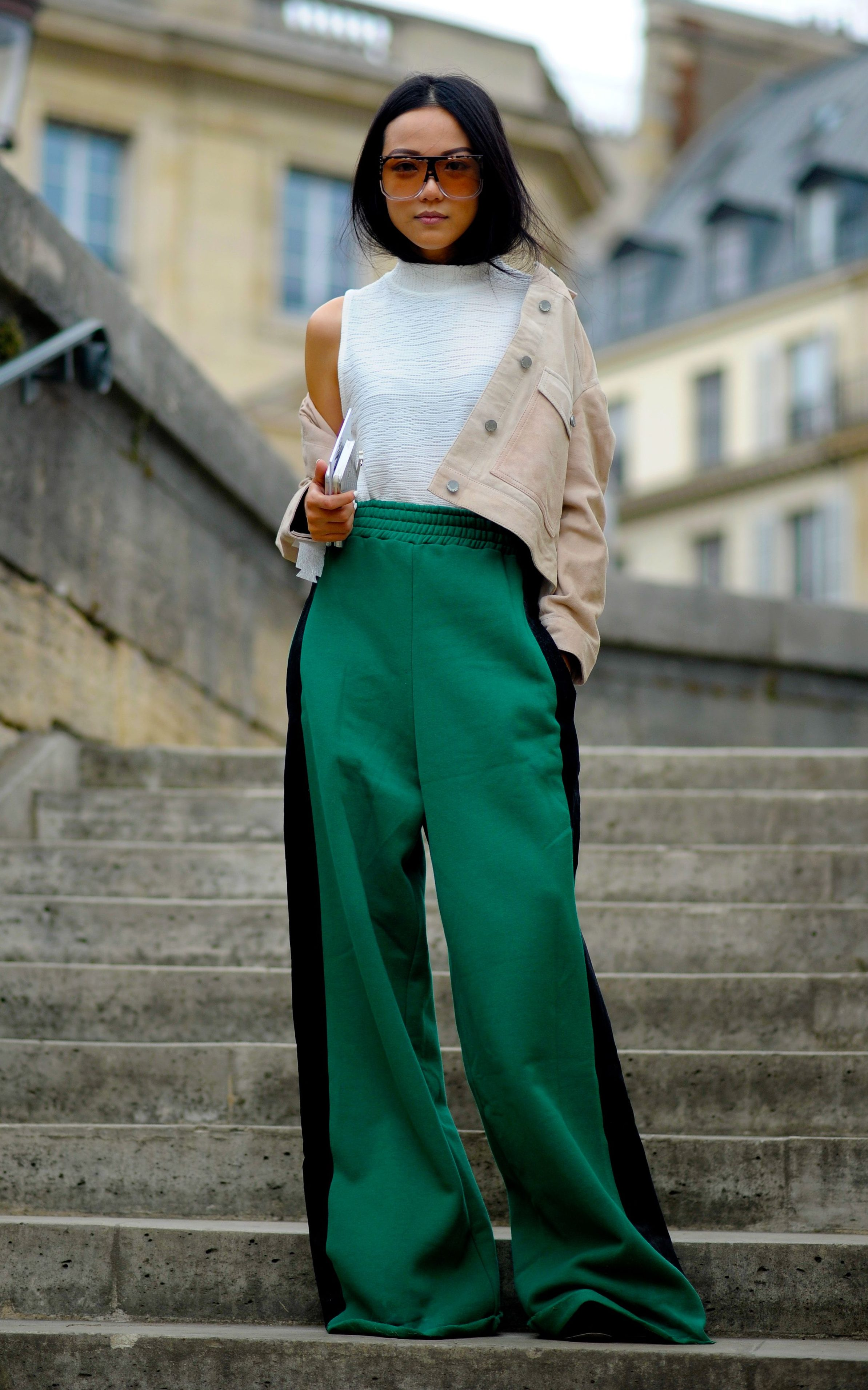 Yoyo Cao | 53 winning street style looks from Paris ...