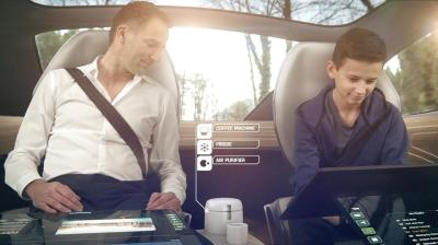 Panasonic showcases the future of car interiors with high ...