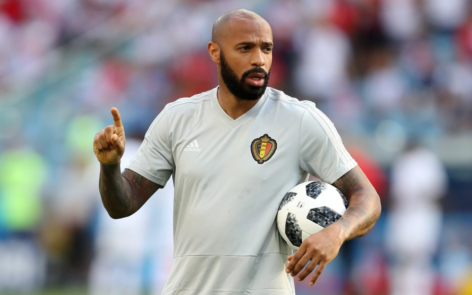 Thierry Henry is an  enemy  of France  says Didier Deschamps ahead     Thierry Henry