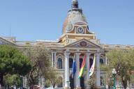 Palacio del Gobierno Plurinacional de Bolivia. Imagen: Leticia Pautasio/ Telesemana.com