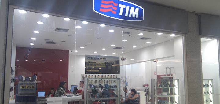 Tienda de TIM en San Pablo, Brasil. Imagen: T Decisions/ Flickr