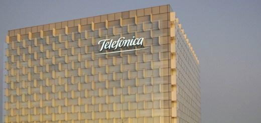Fachada de edificio en el Distrito Telefónica, en Madrid, España. Imagen: Telefónica.