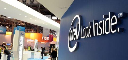 Stand de Intel en el MWC. Imagen: Intel