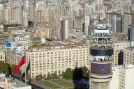 Torre Entel en Santiago de Chile. Imagen: Entel