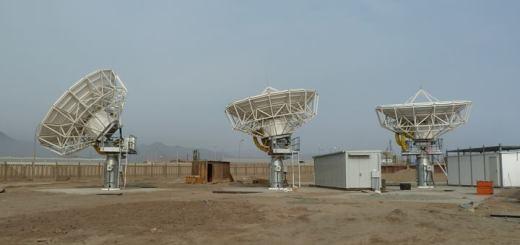 Estación Terrena de O3B en Perú. Imagen: O3B Networks