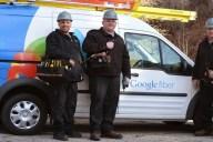 Obreros de Google Fiber en Provo, Utah / Imagen: Google Fiber Blog