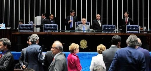 Cámara de Senadores de Brasil. Imagen: Jonas Pereira/Agência Senado