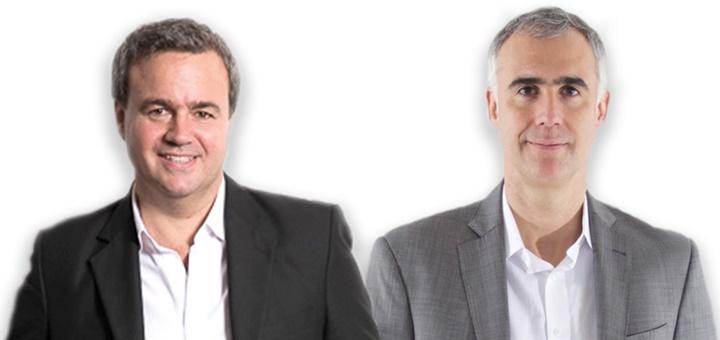 Esteban Iriarte y Marcelo Cataldo. Imagen: Tigo-Une