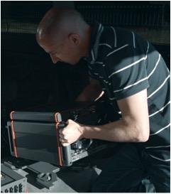 Instalación de la solucion de benchmarking Nemo Invex II en un auto