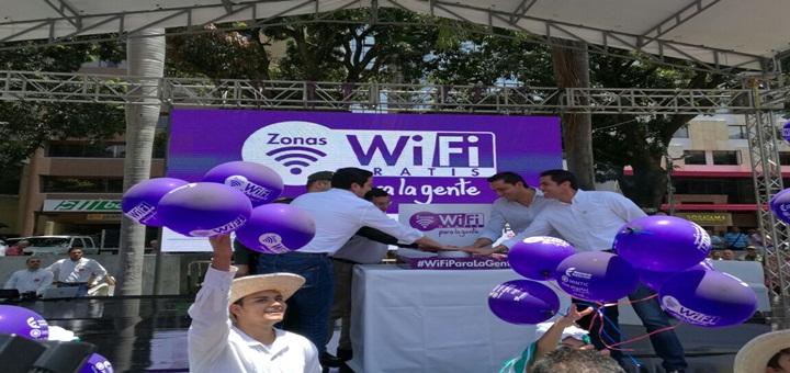 """Zonas Wifi Gratis para la gente"". Imagen: Mintic."