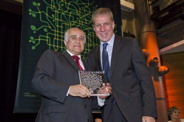 Aluizio Byrro, presidente do Conselho da Nokia Network e Jorge Bittar, deputado Federal