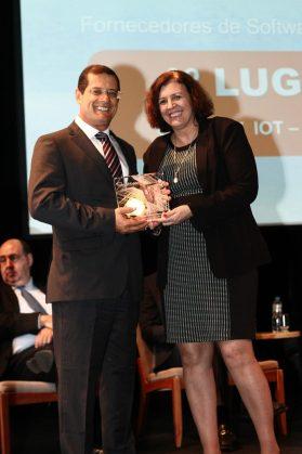 Ricardo Nascimento, presidente da Visent com Wanise Ferreira, editora do portal Inovação nas Empresas