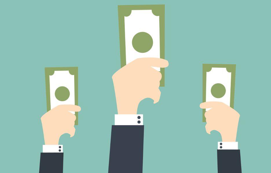 dinheiro investimento leilão oferta compra aporte capital