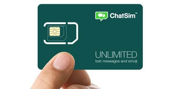 Chip oferece WhatsApp ilimitado em qualquer lugar — ChatSim