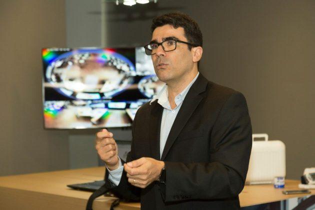 Sao Paulo, 21 de Junho de 2017.  Oi lanca WIFI Business, plataforma de relacionamento que permite interacao entre ambientes fisico e digital.  Luiz Carlos Faray,  Dir. de TI do B2B da Oi . Foto Marcos Issa/Argosfoto