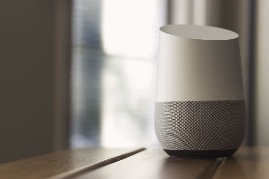 Google Home, o alto falante inteligente do Google (Foto: nextdayblinds.com)