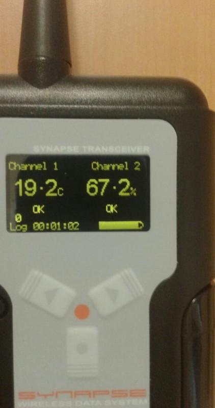 Emetteur Synapse Température Humidité
