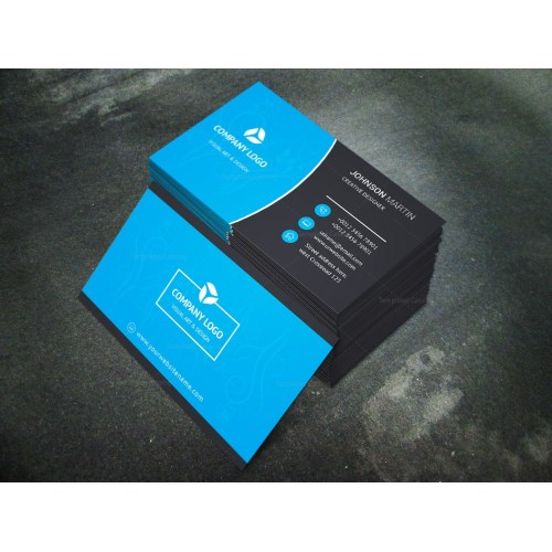 Medium Crop Of Modern Business Card