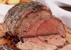 cuisson rôti de bœuf, rôti de bœuf, temps de cuisson rôti de bœuf, rôti de bœuf au four