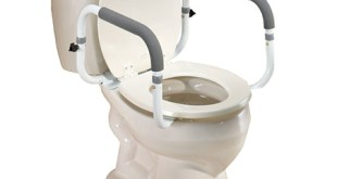 5. EasyComforts Toilet Safety Rails