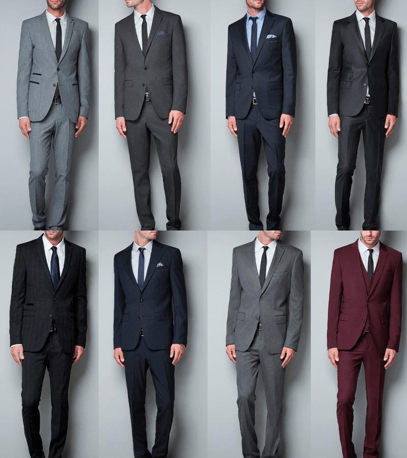 5 reglas para combinar corbata camisa y traje for Colores para combinar con gris