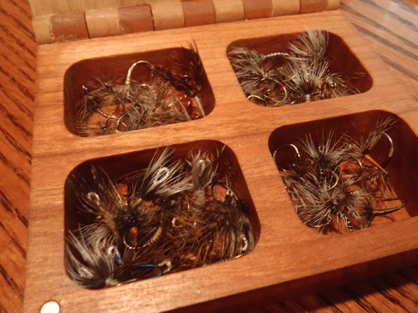Jason Klass's Fly Box