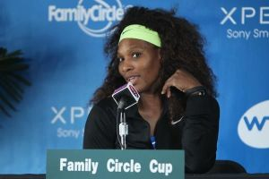Serena Williams (photo from FamilyCircleCup.com)