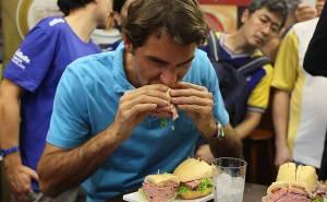 Federer in Brazil