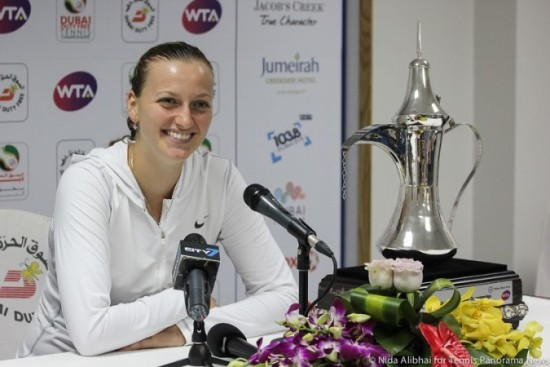 Kvitova Dubai winner