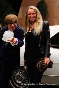 """""""Austin Powers"""" and Caroline Wozniacki"""