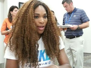 Serena Williams in Cincinnatti 2013