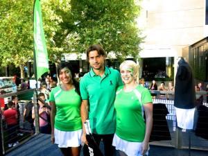 Australian Open Hub David Ferrer 1