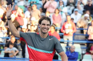 Nadal waves and smiles