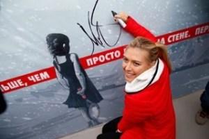 Sharapova Sochi 2