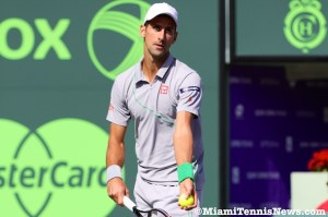 Novak Djokovic photo courtesy of © Miamitennisnews.com