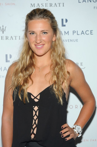AZARENKA party with the pros