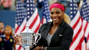 Serena Williams photo courtesy of the USTA  (Photo by Matthew Stockman/Getty Images)