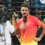 223 Wawrinka interviewed for TV