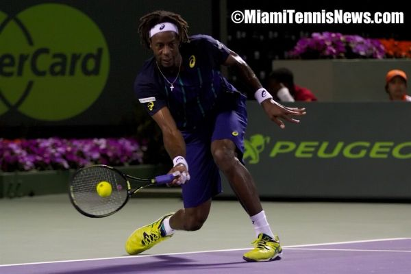 Gael Monfils photo courtesy of MiamiTennisNews.com