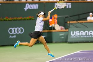 Nara flying forehand