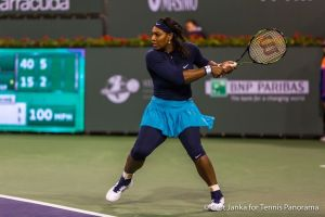 Serena gets ready for bh 3112016